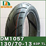 DURO製タイヤ DM1057 130/70-13 63P T/L ダンロップ OEM 50CC ホンダ ディラン ヤマハ マグザム MAJESTY S マジェスティS スズキ スカイウエイブ250 カワサキ イプシロン250 フロント リア SET 前後 ヤマハ