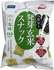 DHC ヘルシー発芽玄米スナック のり塩味 30g×12袋