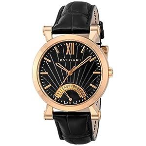 [ブルガリ]BVLGARI 腕時計 ソティリオブルガリ ブラック文字盤 SBP42BGLDR メンズ 【並行輸入品】