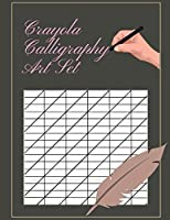 Crayola Calligraphy Art Set: Brush Pen Lettering Practice Book An Interactive Calligraphy & Lettering Workbook With Guides, kelly creates brush lettering spencerian penmanship modern calligraphy pens