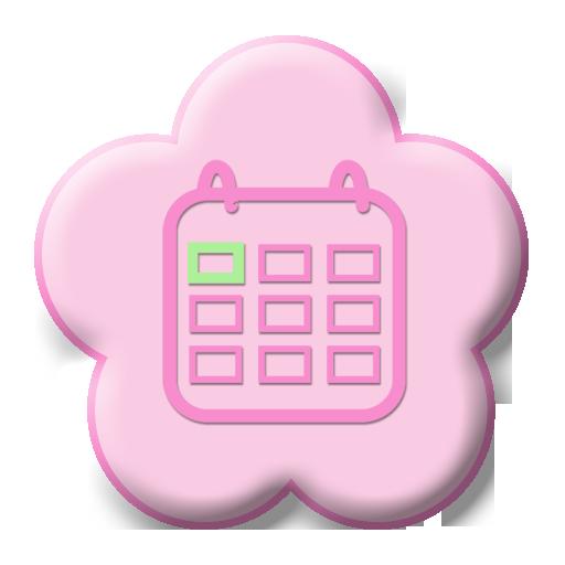 レディースカレンダー Free(生理・体重・体温管理)