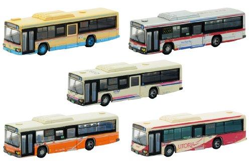 ザ・バスコレクション 日野ブルーリボンシティII ノンステップ5台セット A