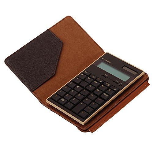 amadana 電子計算機 レザーケースセット (ブラウン) LCA-704-BR