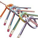 (SOWAKA) 曲がる 鉛筆 30本 50本 セット 子供会 パーティー イベント の 景品 粗品 (30本)