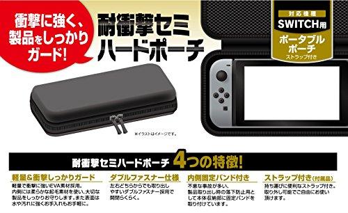Nintendo Switch ケース ポーチ ポータブル EVA セミ ハード ストラップ付き