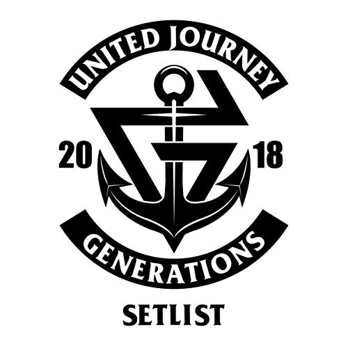 GENERATIONS LIVE TOUR 2018 UNI...