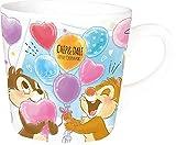 ティーズファクトリー マグカップ チップ&デール マグ: H8×Φ8.3cm タオル: H18×W18cm ディズニー マグ&タオルセット DN-5524433CD
