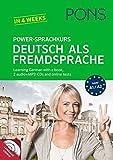 Pons German series: PONS Power-Sprachkurs Deutsch als Fremdsprache - Book + CD