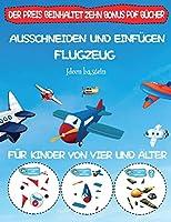 Ideen basteln: Ausschneiden und Einfuegen - Flugzeug