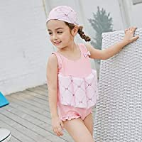 Children's Buoyancy Swimsuit Hot Springs Bathing Suit Girls Floating Siamese Clothes