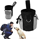 Dog Treat Pouch Pet Hands Free Training Waist Bag Drawstring Carries Pet Toys Food Pouch Dog Treat Carrier Holder