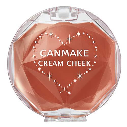 キャンメイク CANMAKE クリームチーク 【17】キャラメルラテ 2.4g