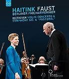 ベートーヴェン:ヴァイオリン協奏曲ニ長調Op.61交響曲第6番ヘ長調Op.68「田園」[DVD]