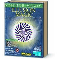 4M KidzLab Science Magic Series Illusion Magic Kit by 4M