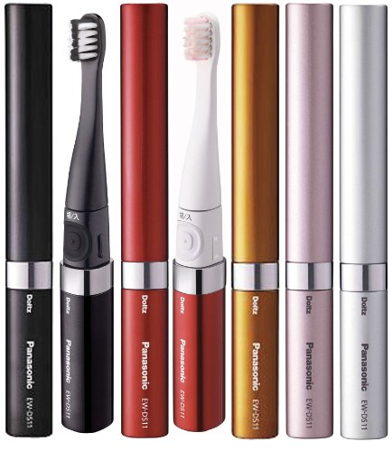 「ポケット ドルツ」携帯用電動歯ブラシ