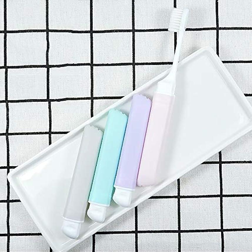 評価可能外交生きる歯ブラシ 10柔らかい歯ブラシ、携帯用歯ブラシ、折り畳み式の大人歯ブラシ - 10パック KHL (サイズ : 10 packs)