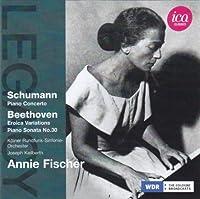 アニー・フィッシャー - シューマン:ピアノ協奏曲 イ短調/ベートーヴェン:エロイカ変奏曲とフーガ 他