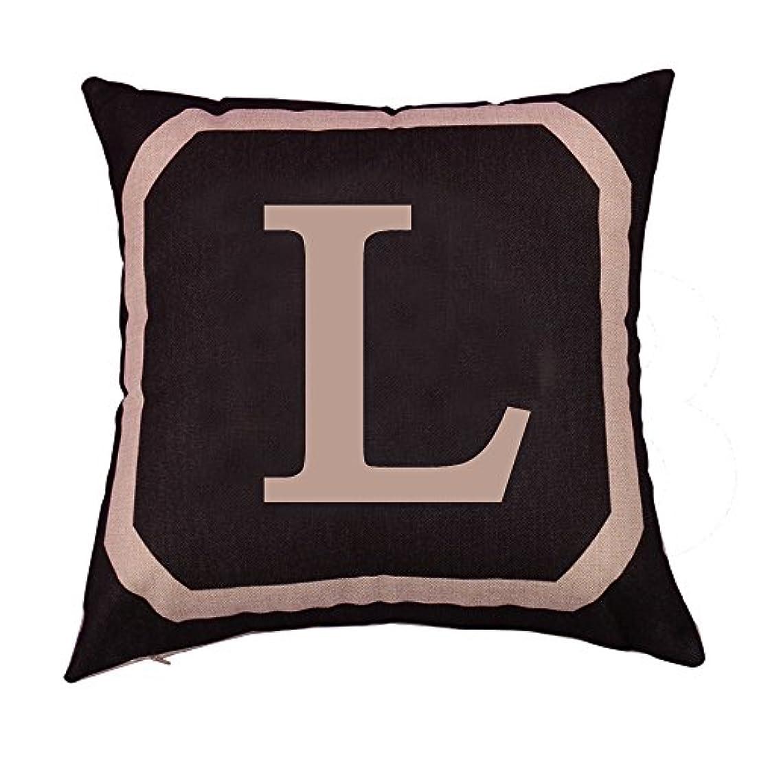 手つかずの袋建築B Blesiya 正方形のリネンコットン枕投げダブル枕ソファカバー家具L