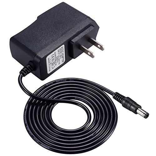 Punasi Casio カシオ 電子ピアノ 電子キーボード用 ACアダプター 9V 1A AC / DCアダプター5.5x2.1 mmプラグ 充電器 電源アダプター