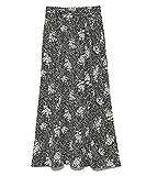 [スナイデル] プリントナロースカート SWFS212079 レディース BLK 1