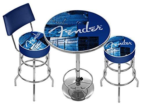 FENDER STACKED LOUNGE SET★フェンダー スタックド ラウンジ バ-スツール+テーブルセット