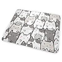 Kawaii Cute Cats 小さいながらも軽くて柔らかく快適な折り畳みが簡単なハイエンドのファッションシンプルなポップ絶妙なおむつパッド