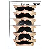 [マスタック]Mustaches Moustaches for every occasion 6 party mix [並行輸入品]