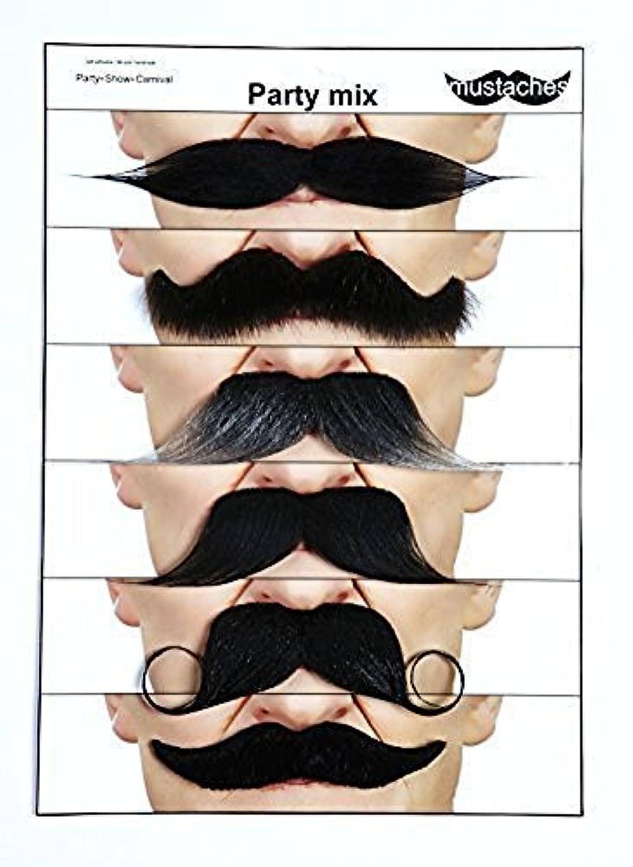 [マスタック]Mustaches Moustaches for every occasion 6 party mix [並行輸入品]