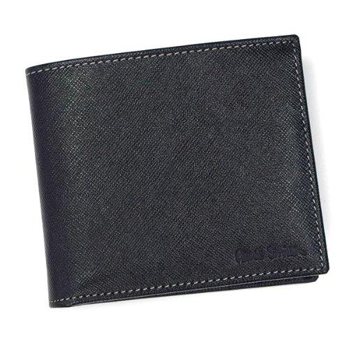 [ポールスミス]PAUL SMITH 二つ折り財布BK(ブラック)AHXA1033 W270[並行輸入品]
