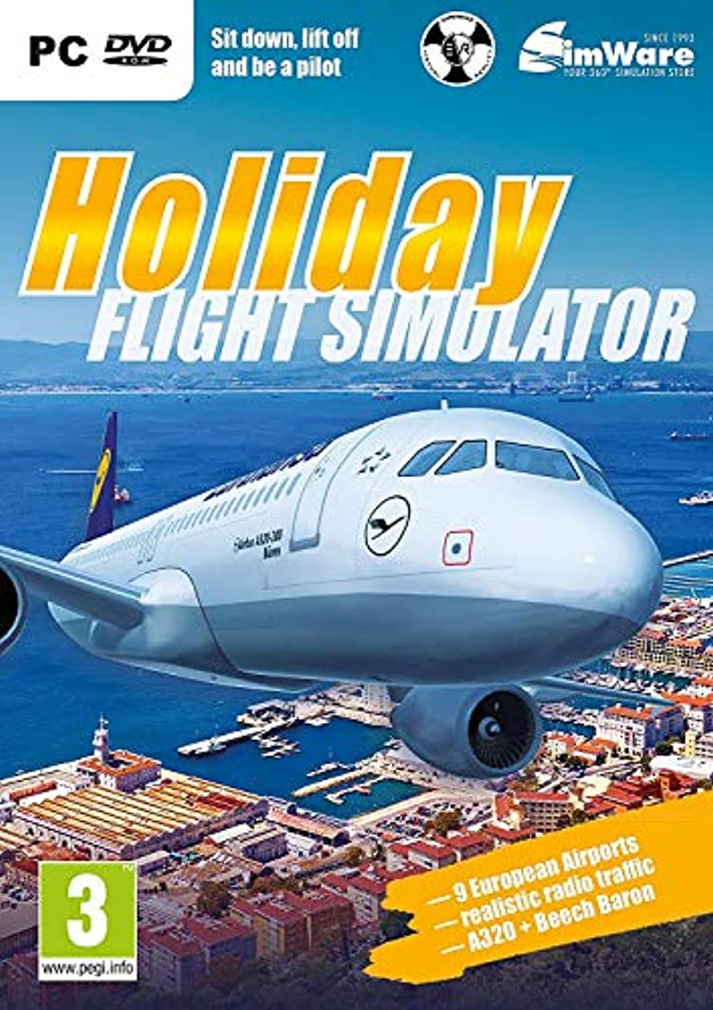 インク恐れ病気のHoliday Flight Simulator (PC DVD) (輸入版)