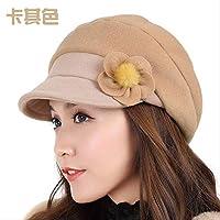冬ベレー秋冬ファッションレディース暖かい かききS(54-56cm)