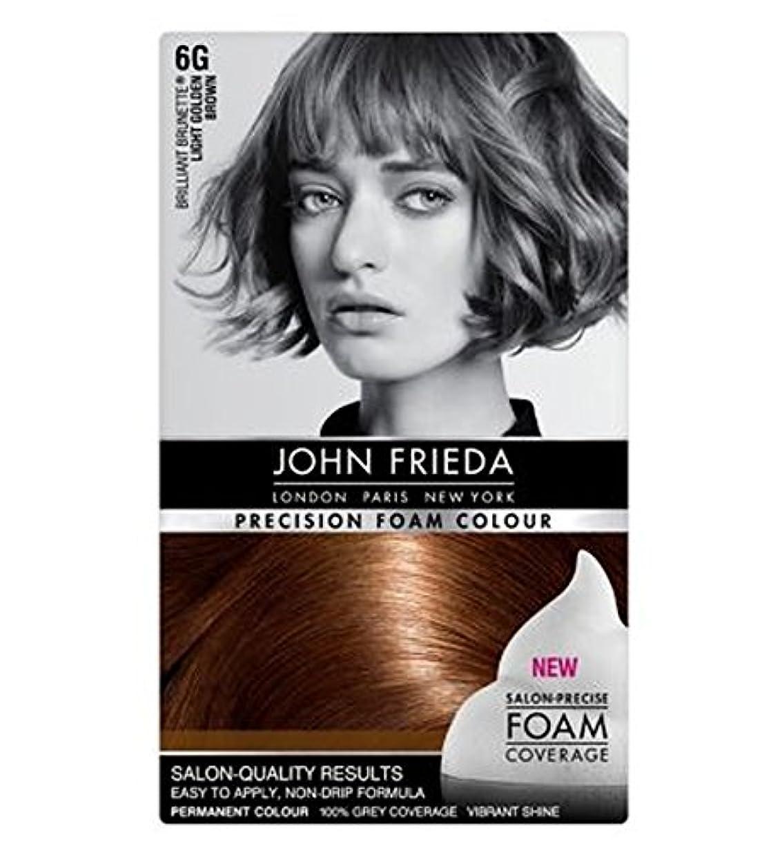 対話装置キウイジョン?フリーダ精密泡カラー6グラムライトゴールデンブラウン (John Frieda) (x2) - John Frieda Precision Foam Colour 6G Light Golden Brown (Pack...