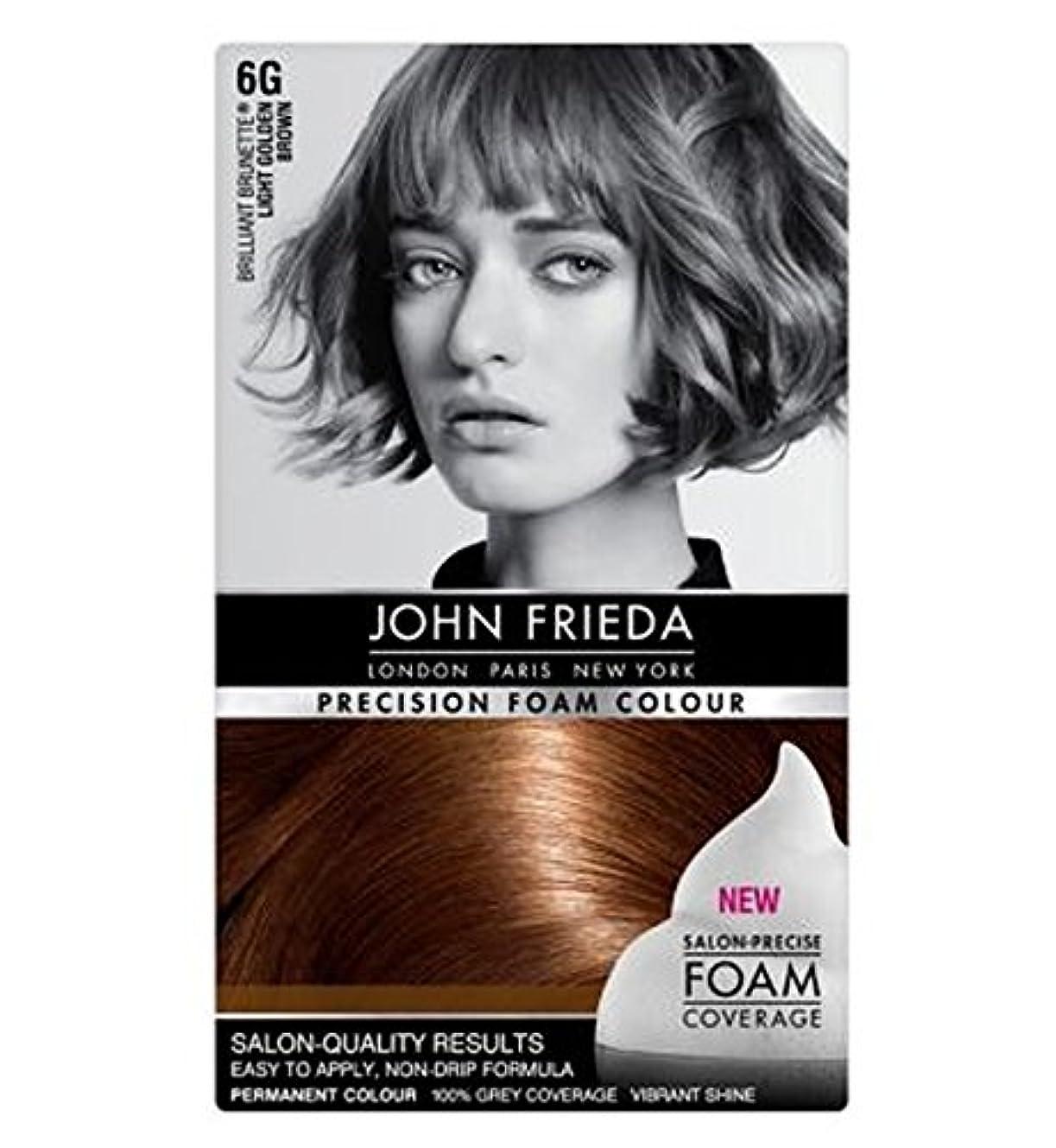 オーバーフローアルネ挨拶ジョン・フリーダ精密泡カラー6グラムライトゴールデンブラウン (John Frieda) (x2) - John Frieda Precision Foam Colour 6G Light Golden Brown (Pack of 2) [並行輸入品]