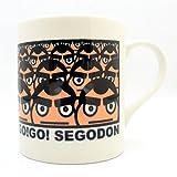 GO!GO! SEGODON (ゴーゴー西郷どん) ゆるキャラ マグカップ No,7 西郷どんいっぱい