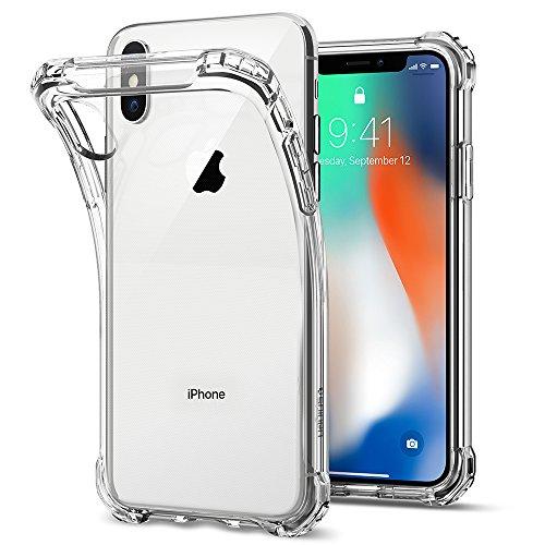 【Spigen】 iPhone X ケース, [ TPU ケース ] [ 全...