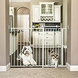 【Carlson】カールソン マキシエクストラトールウォークスルーゲート Maxi Extra Tall Walk-Thru Gate with Pet Doorcarl1210hpw1 (¥ 19,800)