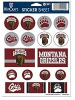 (University of Montana, 13cm x 18cm) - NCAA Vinyl Sticker Sheet