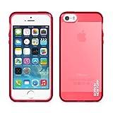 Liquid TPU フレックスケース iPhone 5S / 5 【グロス レッド】 IDCA505-TG-RED