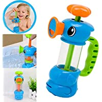 coerni Baby Bath Toy – かわいいアヒル水ポンプスプレーおもちゃ付き