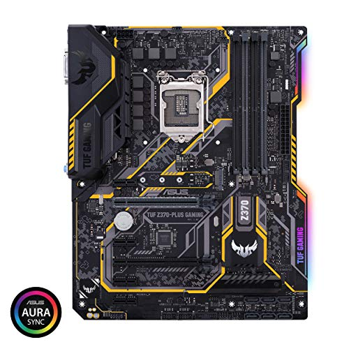 ASUS Intel Z370 搭載 LGA1151対応 マザーボード TUF Z370-PLUS GAMING 【ATX】 B075RJ8WN2 1枚目