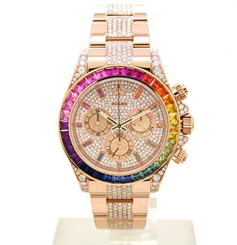 ROLEX(ロレックス)デイトナ 116505〔エバーローズゴールド〕〔バゲットカットサファイア&ブレスダイヤモンド 116595RBOW仕様〕〔腕時計〕〔メンズ〕〔新品〕 [並行輸入品]