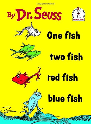 One Fish Two Fish Red Fish Blue Fish (Beginner Books(R))の詳細を見る
