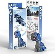 EUGY 008 Bronto Eco-Friendly 3D Paper Puzzle