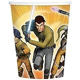 Star Wars Rebels 9 oz. Paper Cups (8) スターウォーズ反乱軍9オンス紙コップ(8)♪ハロウィン♪クリスマス♪