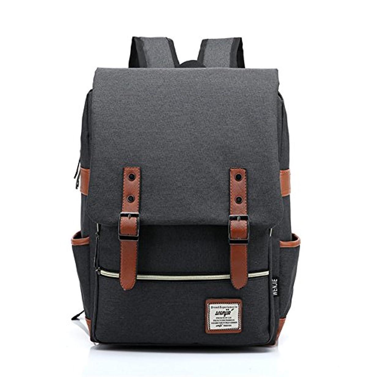無効神経ステーキRaiFu リュックサック レディース メンズ バックパック 旅 通学 多機能 大容量 小型 ブラック