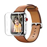 Apple Watch 保護ケース 超軽量 42mm Benuo Apple Watch Series 3/Series 2 フルカバー PC 脱着簡単 iWatch 3/2 全面液晶保護ケース 透明 アップルウォッチ シリーズ 3/シリーズ 2 カバー (42mm)