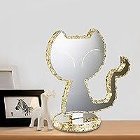 Zhaocaimaoデザインクリスタルテーブルランプベッドルームのベッドサイドランプの猫のデザインLedテーブルランプ