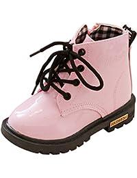 ルテンズ(Lutents )乳児靴 温かい 女の子 男の子 滑り止め 子供 靴 花柄 シンプル 3-7歳 誕生日 プレゼント ベビーシューズ 耐磨 おしゃれ カッコイ 履きやすい キッズ ブーツ