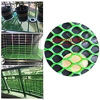 安全ネット 多目的な用途のネット 階段ネット 防護ネット 子供 転落防止網 取り外し可能なバルコニーや階段セーフティネット、グリーン安全柵メッシュネット、子供/おもちゃ/ペットの安全性 - 丈夫なメッシュ、プラスチック材料 怪我防止 危険防止 簡単設置 丈夫 取り付けバンド付属 (Color : Green, Size : 2x10m)
