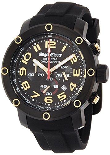 エンジェルクローバー エイトスター クロノグラフ NES46BBG-BK 腕時計